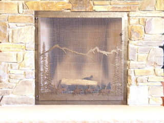 Cowboys Fire Screen