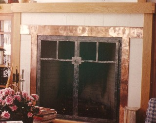 Craftsman Style Fire Screen