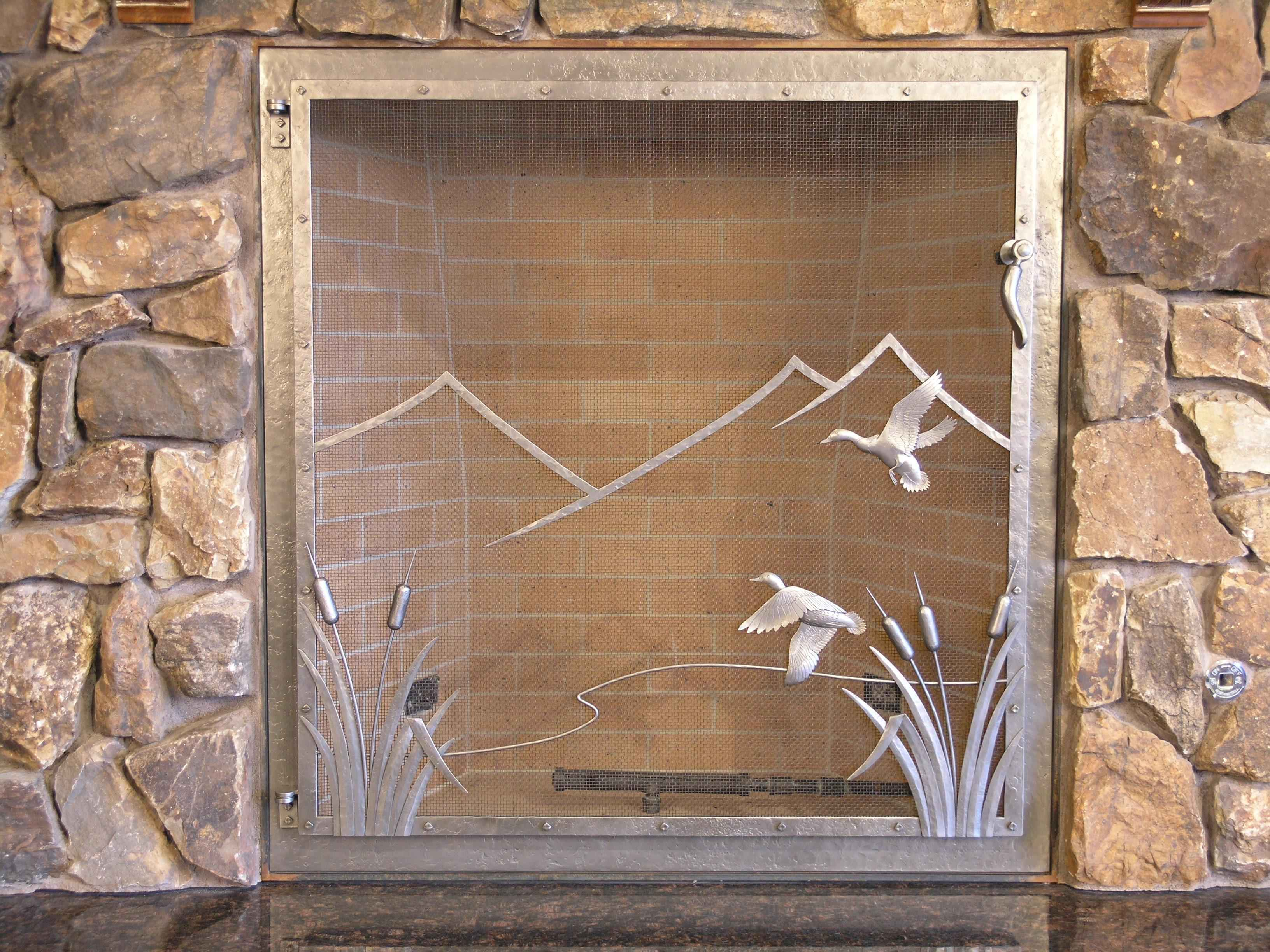 Ducks Fire Screen