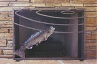 Fish Fire Screen