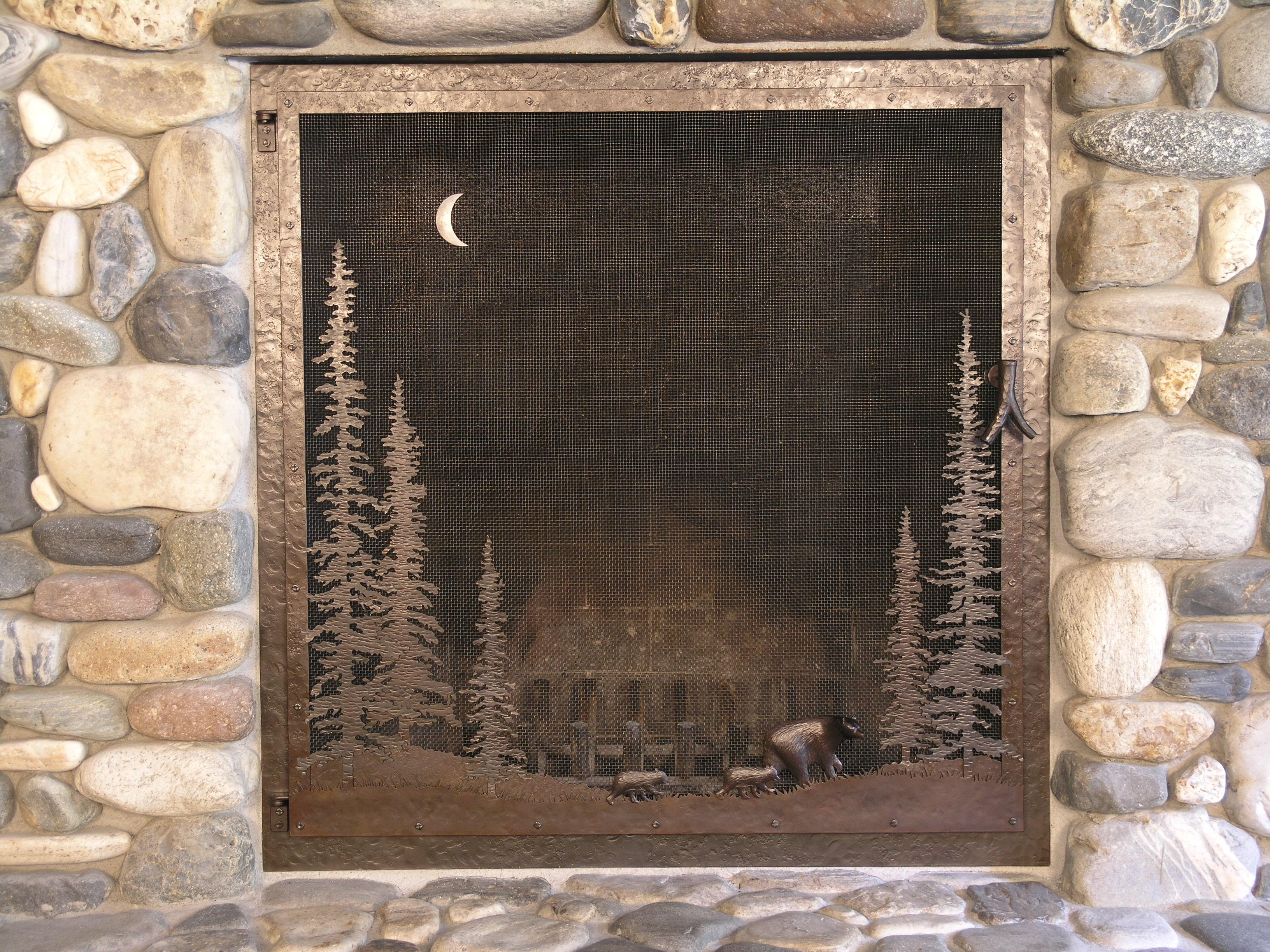 custom fireplace screens related keywords suggestions custom