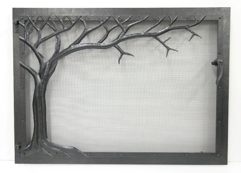 Single Tree Fire Screen